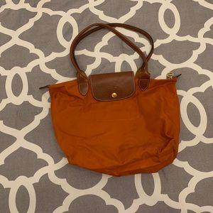Burnt Orange Longchamp Bag